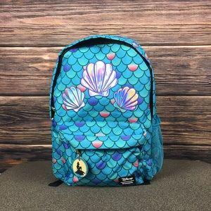 Disney The Little Mermaid Ariel Backpack NEW